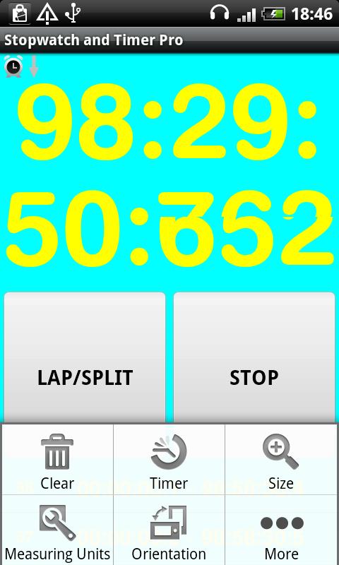 Chronom tre et minuteur pro appstore pour android - Chronometre et minuteur ...