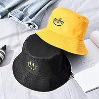 anhuihongfuchayeyouxiangongsi Characteristic Double-sided student hat casual fisherman hat sunshade sun hat(H01)