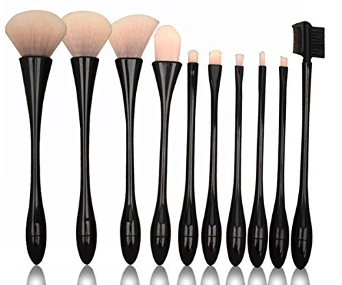 Missing Deer Make-up Pinsel Silber und Schwarz Kleine Taille Form Kelch Make-up Tools 10 Full Set Beauty Tools Kreative Geschenke , #42 American Kelch
