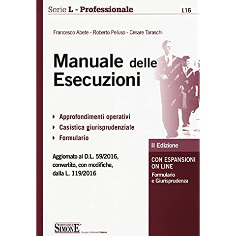 Manuale delle esecuzioni. Con espansione online