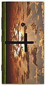 Prominent multicolor printed protective REBEL mobile back cover for Nokia Lumia 920 D.No.N-T-5647-N920