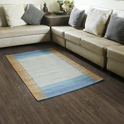 Store indya, tappeto tappetino in cotone intrecciato per tappeti in moquette per zona giorno