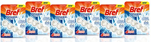 [Pack de 6] BREF Colgador WC Power Active Higiene Blister 1 uds