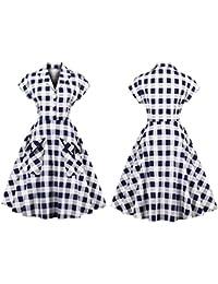 Amazon.it  vestiti anni 60 - Vestiti   Donna  Abbigliamento 304b587aa63