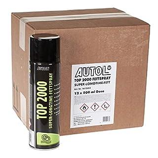 Autol Top 2000 Fettspary 12 x 500 ml Dosen