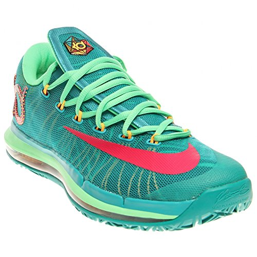 Nike KD VI Elite - Herren Basketball Turnschuhe Turbogrün/lebhaftes pink/Nachtschatten/lucid 300