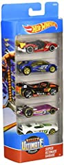 Idea Regalo - Hot Wheels Confezione 5 Veicoli Assortiti
