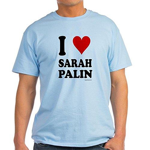 CafePress T-Shirt I Love Sarah Palins gesichert würden