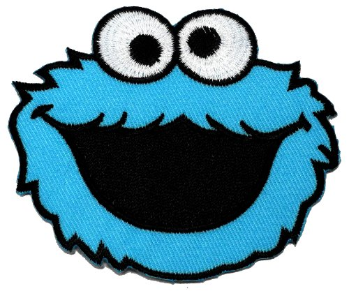 cookie-monster-sesame-street-diy-embroidered-sew-iron-on-patch