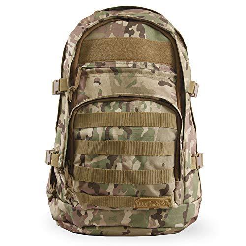 5cefdd4fac5b Highland Tactical Basecamp Camo Tactical Backpack - HLBP8