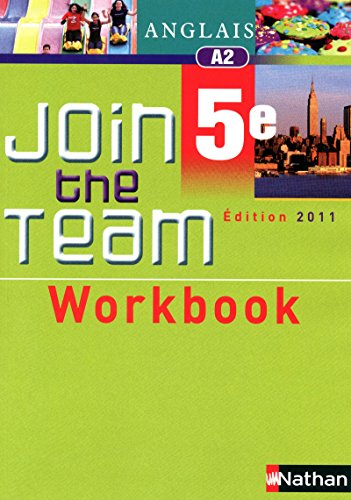 Workbook Join the Team 5e par Cyril Dowling
