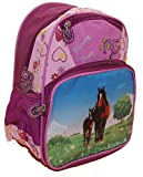 Kinderrucksack mit Pferdemotiv von STEFANO pink