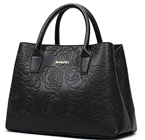 GBT Wilde einfache Art und Weise Handtasche Schulter Messenger Handtasche Black
