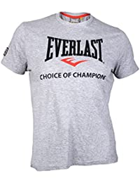 Everlast T–Choice of Champions, color gris, tamaño L