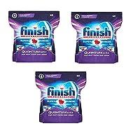 Finish Mega Pack Quantum Max Dishwasher Tablets - 60'S Pack Of 3