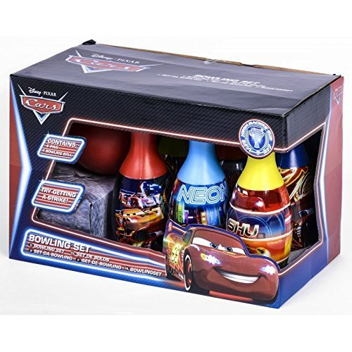 Bowling - Set von Disney Cars für Kinder