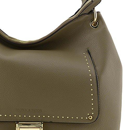 borsa della donna Maxi Beige
