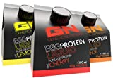 GN Laboratories EGG Protein Liquid Proteinquelle Eiweiß Leucin Laktosefrei (Mix Box 4x Lemon 4x Orange 4x Cherry)