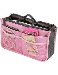 SAVFY Ladies Tidy Travel Insert Handbag Cosmetic Organiser Purse Large Liner Bag Pouch