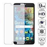 Guran Displayschutz Glasfolie für Alcatel OneTouch Pop4S (5.5 Zoll) Smartphone Hartglas Schutzfolie Film