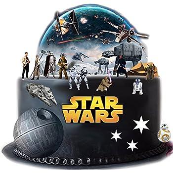 Stand Up Star Wars Cake Scene Premium Edible Wafer Paper
