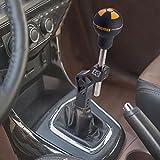 #9: Black Aluminium Car Auto Shift Knob Extender Extension Adjustable Lever Gear Shifter