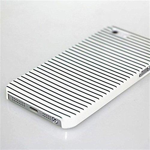 Inonler custodia La Ragazza di Amore e di Zebra Zebra ()(iPhone 6/6S,Rosa) Bianco