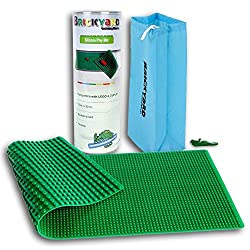 [2 In 1] Lego And Duplo Compatible Brick Building Play Mat By Brickyard, Large Green 12