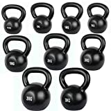 Confidence Cast Iron Kettlebell for Full Body Workout/Training/Exercise (10 - 30KGS)