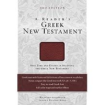 READERS GREEK NEW TESTAMENT