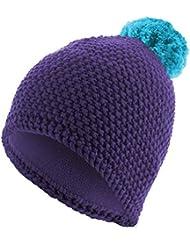 MasterDis Beanie Polar Strickmütze (Einheitsgröße, purple/turquoise)