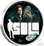 Silbermünze 1oz STAR WARS SOLO: A Star Wars Story Silbermünze 2018 im Etui inklusive Zertifikat