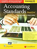 Accounting Standards-Simplified (For Ca Intermediate Ipc): Group I and II