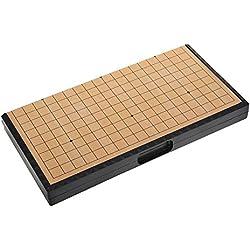 Go Set Gobang Tablero Plegable Magnético Juegos Educativos para Niños Weiqi Juego de Estrategia