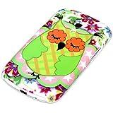 deinPhone Coque rigide colorée Grand Hibou Coque de protection Pare-chocs pour Samsung Galaxy S3 Mini Vert