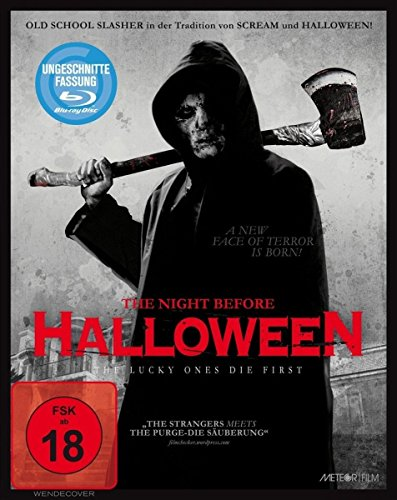 The Night Before Halloween (Uncut) [Blu-ray]