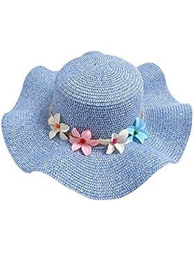 Hosaire Sombrero para el sol sombrero de paja Verano Gorra Sombrero Algodón Anti UV Solar para Viaje Playa para...