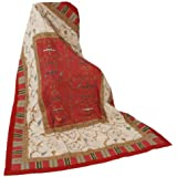 Bassetti 9265852 - Mantel, algodón, 135x190 cm, color rojo