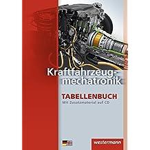 Kraftfahrzeugmechatronik: Tabellenbuch