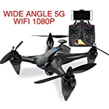 Drone quadricottero portatile di GW198 Brushless Motor 5G, batteria a lunga durata RC aeromobili, GPS, fotografia, Drone Professional Quadcopter