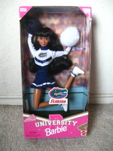 Mattel 17700 University of Florida Barbie Cheerleader AA 1997 -