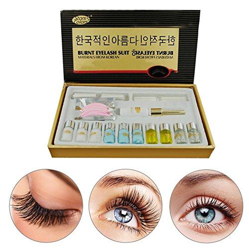 Eyelash Perming Kit, larga duración profesional Eyelash