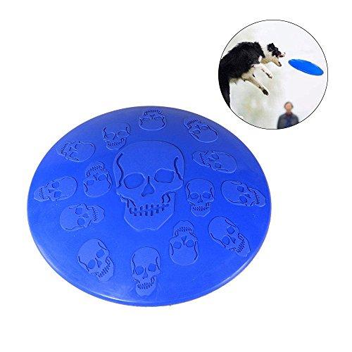 Leegoal Frisbee für Hunde, Hunde, Hunde, Totenkopf, Fl… | 07025779828009
