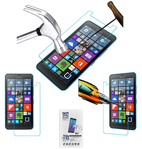 ACM Tempered Glass Screenguard for Microsoft Lumia 640 XL Screen Guard Scratch Protector