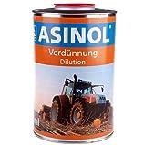 ASINOL Verdünnung 1000 ml Kunstharzlack Farbe Lack 1l Liter Dose