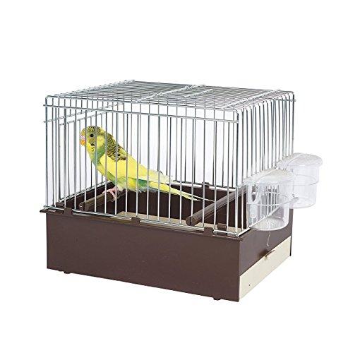 Pet Ting braun Vogel Transport Käfig–Travel Käfig–Finch–Kanarienvögel, Wellensittiche etc. (Vogel Käfige Finch)