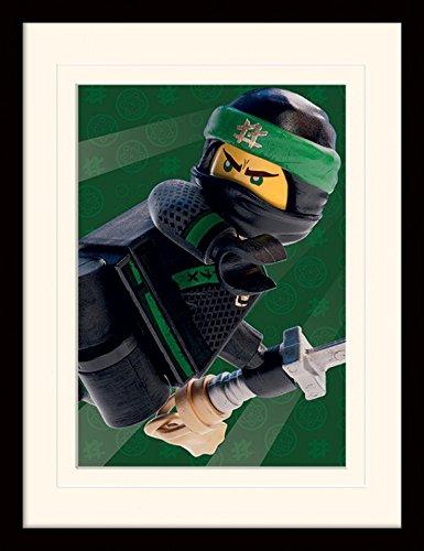 Preisvergleich Produktbild 1art1 107235 The Lego Ninjago Movie - Lloyd Garmadon Gerahmtes Poster Für Fans Und Sammler 40 x 30 cm