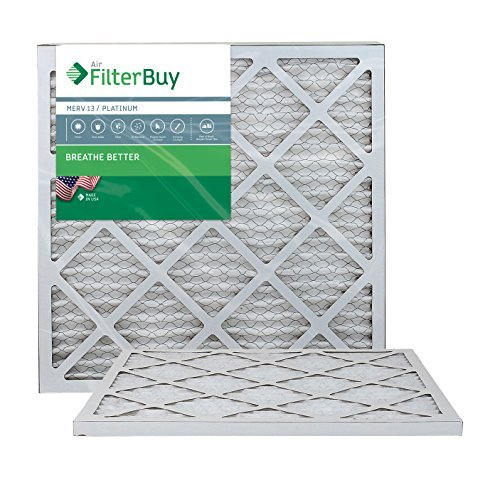Ofen Filter/Air Filter-AFB Platinum Merv 13(2Pack), AFB20x22x1M13pk2 - Ofen-filter 20x22x2