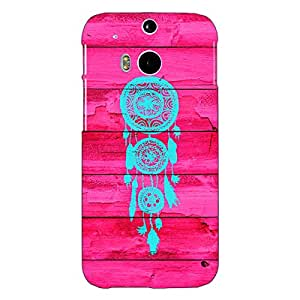 Jugaaduu Love Dream Catcher Back Cover Case For HTC One M8