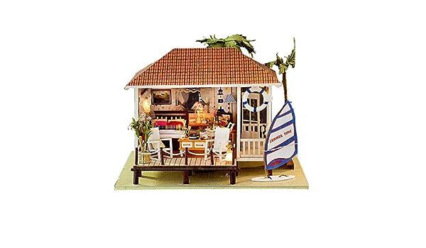 Kit da Casa di Bambole in Legno Fai da Te casa delle
